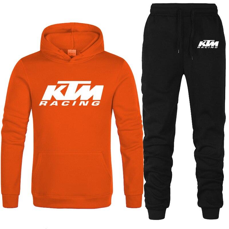 Hot Merk Mannen Sport Past Trainingspakken Ktm Sport Running Pak Snel Droog Plus Size Mens Fitness Jogging Gym Mannen trainingspak