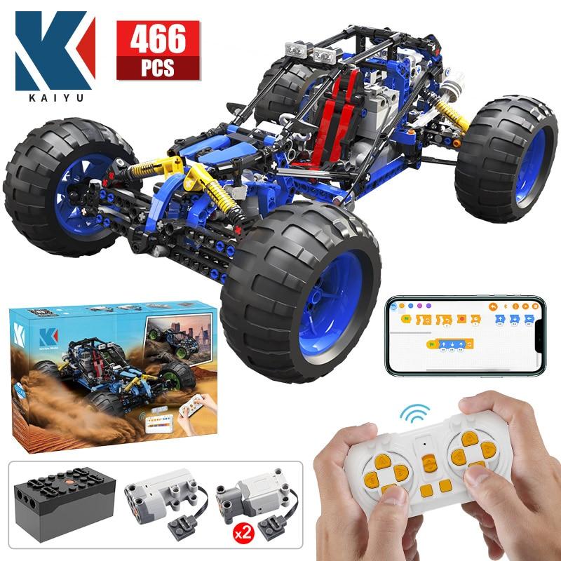 KAIYU-coche de competición en carretera con Control remoto, Buggy de alta tecnología,...