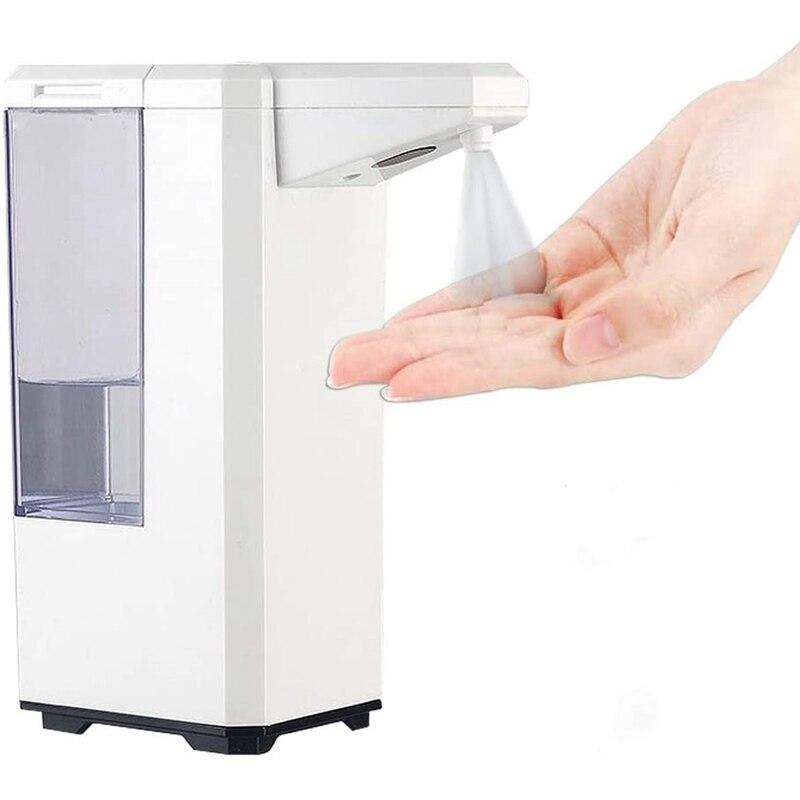 Dispensador de álcool automático touchless spray máquina sensor imprensa dispensador de sabão 500 ml dispensador de sabão adequado para casa