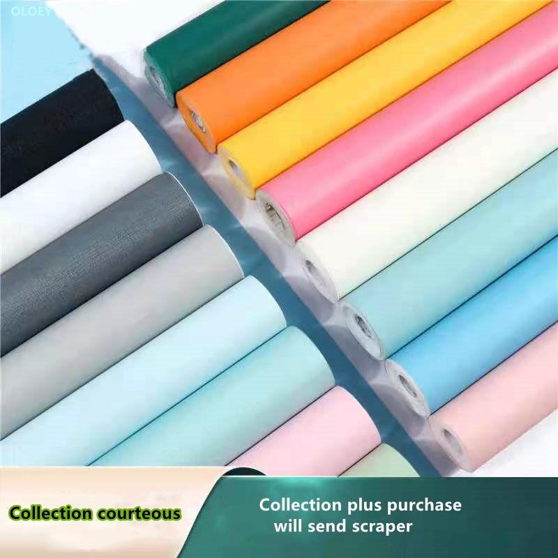 Papel tapiz grueso para decoración del Hogar, Vinilo Decorativo De Pvc para salón De belleza, dormitorio, Moderno