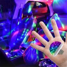 NEW Multi Color USB LED Car Interior Lighting Kit Atmosphere Light Neon Lamps