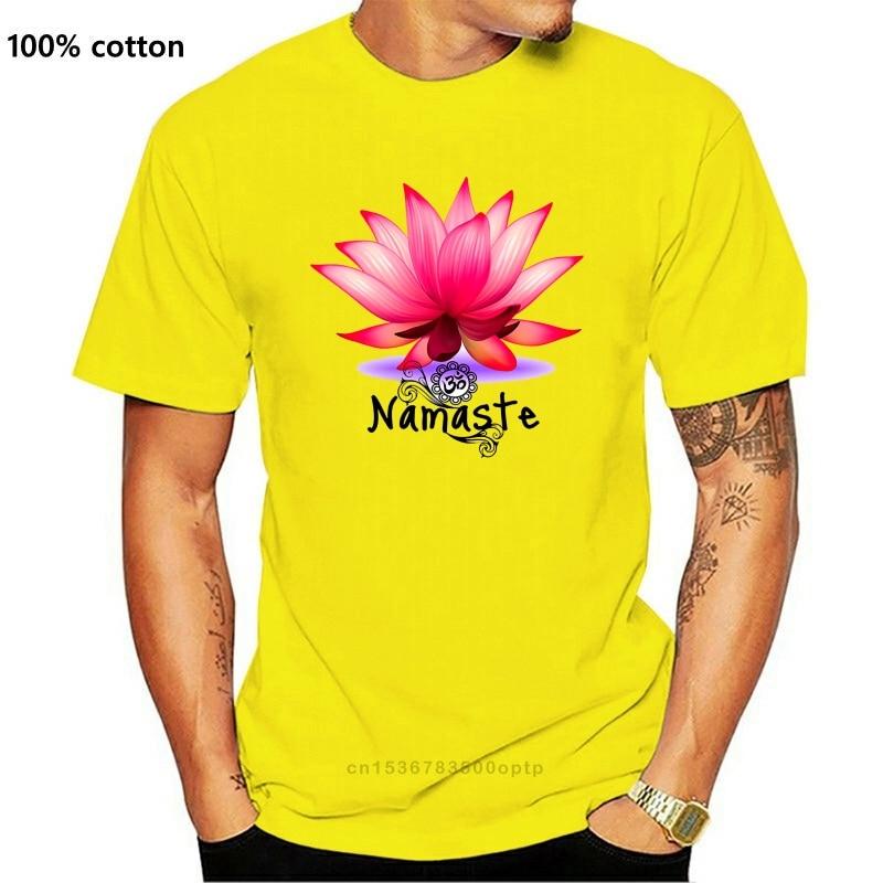 Женская белая футболка дзэн Лотос цветок намаст душевная медитация Йога Ts107 забавная футболка в подарок|Футболки| | АлиЭкспресс