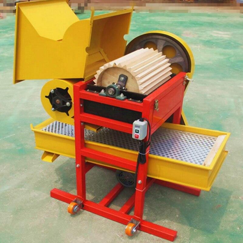Peanut Seed Peeling Machine Oak Rubber Roller Wear-resistant Automatic Peanut Seed Peeling Machine enlarge