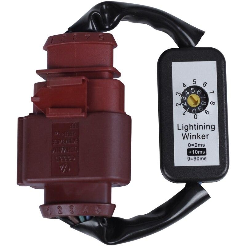 Indicador de señal de giro dinámico Led luz trasera módulo Add-On arnés de Cable para-A4 Avant B8 Lci