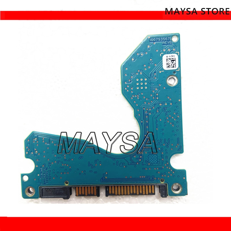 For The new ST Seagate solid hybrid laptop has A 2.5-inch 500G hard drive plate no. 100793567 REV A