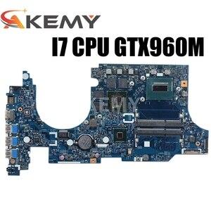 Для Acer aspire VN7-591 VN7-591G Материнская плата ноутбука NBMUV11002 448.02W05.0011 I7-4720HQ Процессор GTX960 4GB видеокартой
