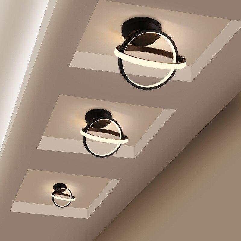 luzes da estrada luzes do corredor simples e moderno led luzes varanda personalidade