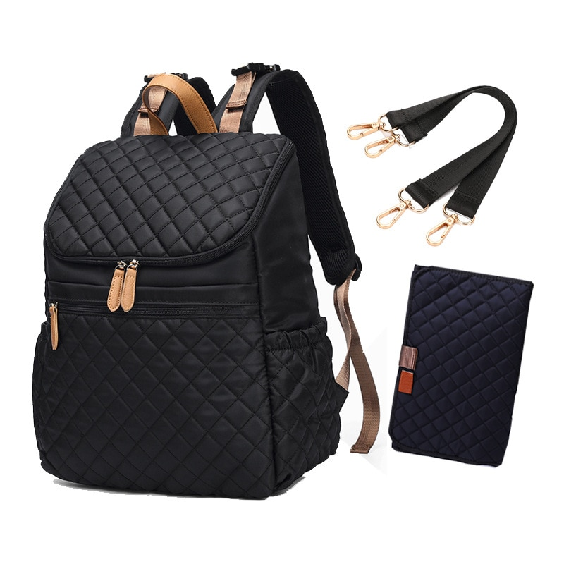 Luxury Waterproof Baby Diaper Bag Backpack Organizer Bags For Mummy Maternity Baby Bag For Mom Stroller Backpack Bags Diaper Bag