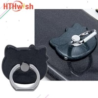 cute silicone mobile phone ring stand smartphone mobile phone accessories for iphone 11 12 12 mini 12 pro max samsung xiaomi