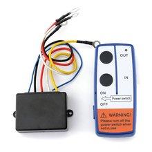 23a dc 12 v 50ft kit de controle remoto sem fio interruptor controle remoto do guincho para o caminhão atv suv guincho interruptor universal