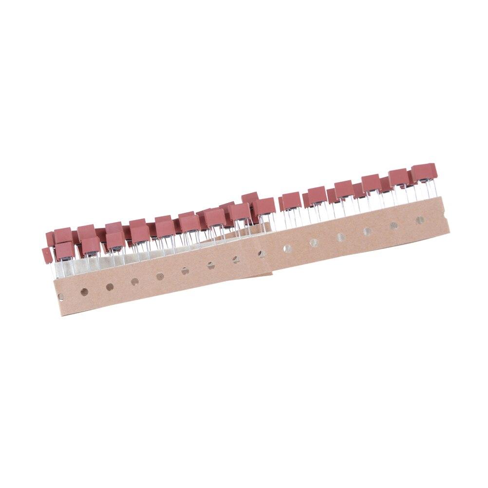 Fusível quadrado quadrado 250v 3.15a 50 pces fusível plástico quadrado t3.15a tv lcd placa de alimentação comumente usado fusível quadrado