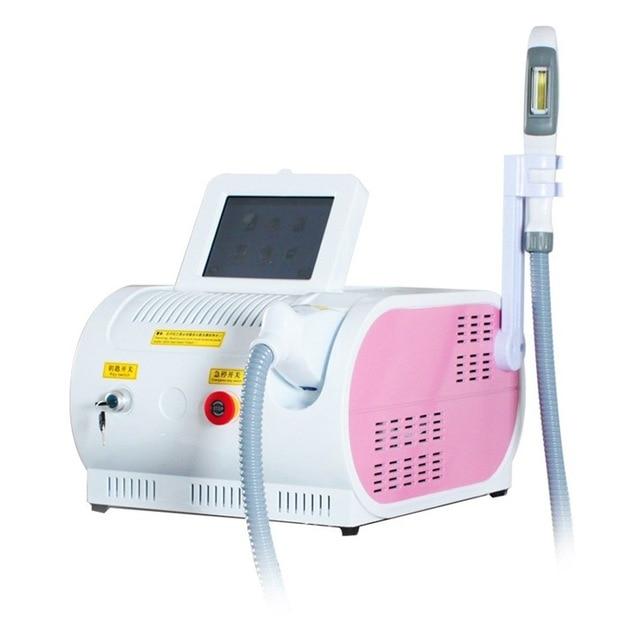جهاز محمول OPT SHR IPL ، جهاز إزالة الشعر بالليزر E-Light ، العناية بالبشرة ، تجديد الجمال