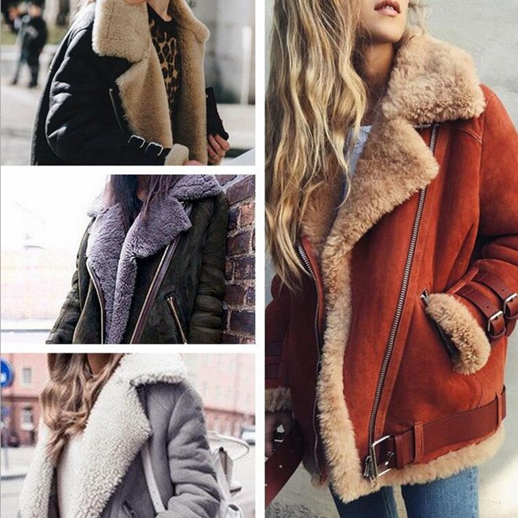 5XL 2021 رائجة البيع موضة جديدة التلبيب معطف من جلد الخراف غير رسمي Sweatwear الحلو مثير لينة نسيج عالي الجودة النساء الملابس قاطرة