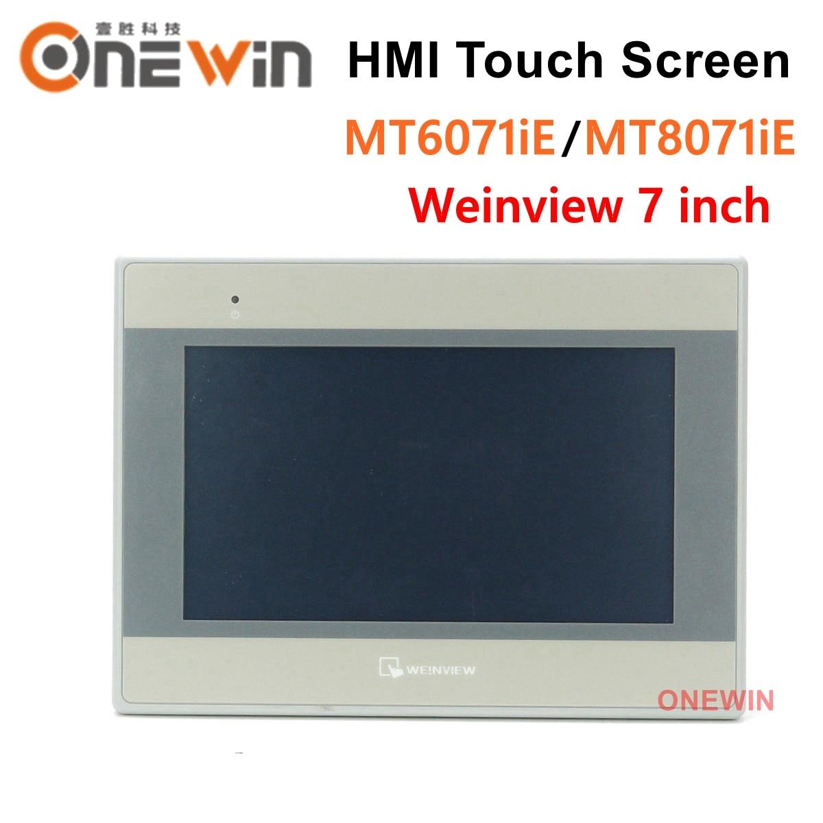 Weinview MT6071iE MT8071iE HMI شاشة تعمل باللمس 7 بوصة USB إيثرنت واجهة ما بين المستخدم والآلة استبدال MT6100I