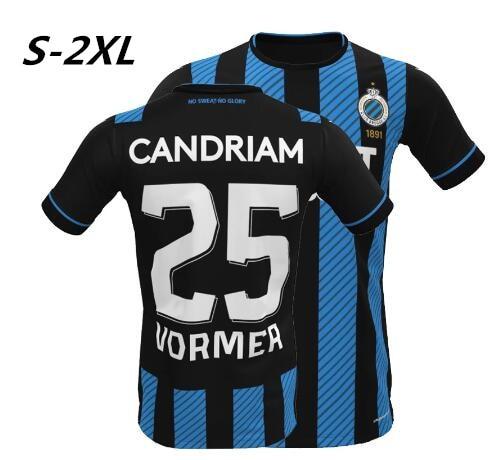 2020/21 Club Brugge home camiseta TEE T-shirt Jerseys Vanaken Vormer Brugge customized shirt High qu