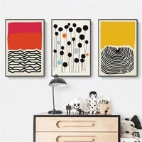 wall art canvas painting home decoration modern multicolored abstract geomotric picture prints nordic posters modern living room
