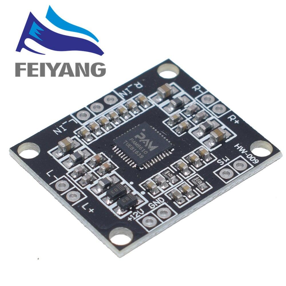 1 Uds PAM8610 2x15W placa amplificadora digital de dos canales placa amplificadora de potencia en miniatura