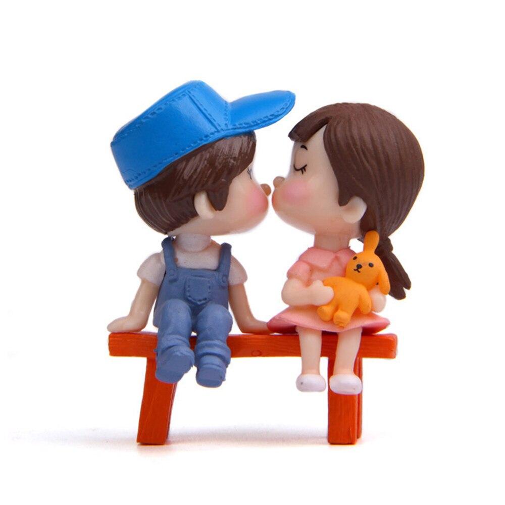 3 шт. DIY мини стул парные куклы миниатюрные фигурки Фея садовые миниатюры Декор фигурки для кукольного домика фигурка украшение дома