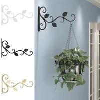1pc hanging plants bracket european style wall planter flower pot decor iron lanterns hanger for home hooks %d7%9e%d7%a2%d7%9e%d7%93 %d7%9c%d7%a2%d7%a6%d7%99%d7%a5