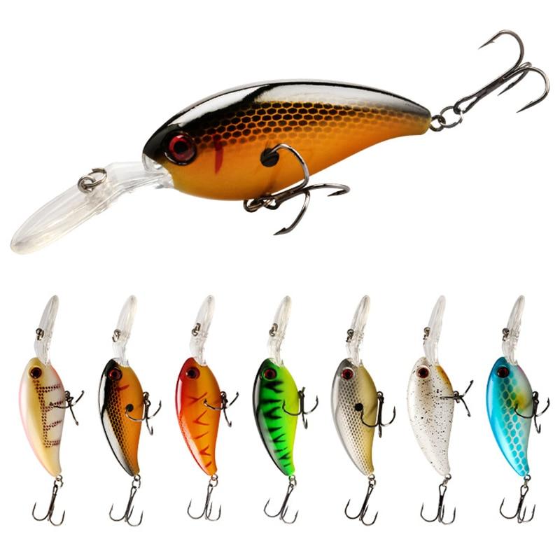 1 Pcs Floating Crankbait Fishing Lure Wobblers 9cm 14g 3D Eyes Jerkbait Artificial Hard Bait Bass Pesca Carp