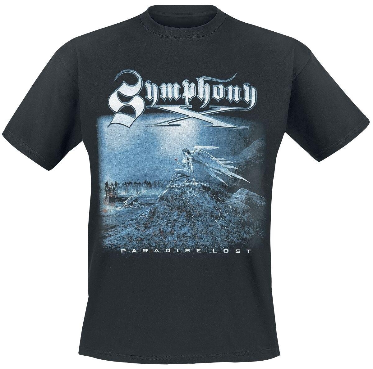 Symphony x camiseta paraíso perdido camisa tamanho S-5XL