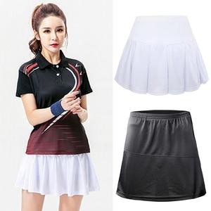 XS-XXXL Pleated Tennis Skirts Badminton Golf Dancing Skirt High Waist Fitness Shorts Women Athletic Running Sport Girls Skorts