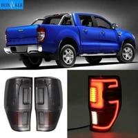 for rord ranger t6 t7 t8 txl 2012 2019 exterior rear led tail lights lamps rear brake lights reverse turn signal lights car