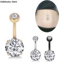 1PC Sexy Jewellery Belly Button Rings Women Piercing Stainless Steel Navel Piercing  Body Piercing N