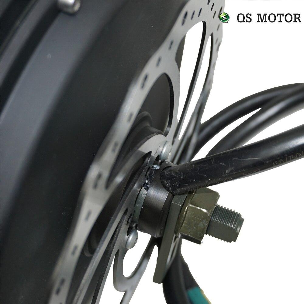 3000W 205 QS Motor Bicycle Spoke motor (50H) V3/V3TI Type Hub Motor 48V/60V/72V 80KPH 96V 4T/5T 70-100KPH 24 hour ready shipping enlarge