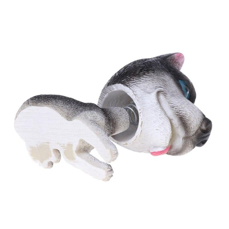 Mini juguetes de cabeza de Bobble, cabeza de muñeca de coche, adorno de perro tembloroso, decoración Interior de coche E7CA