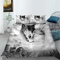 home living luxus 3d wolf bettw%c3%a4sche set komfortable bettbezug set kinder bettw%c3%a4sche set k%c3%b6nigin und k%c3%b6nig euunsauuk gr%c3%b6%c3%9fe