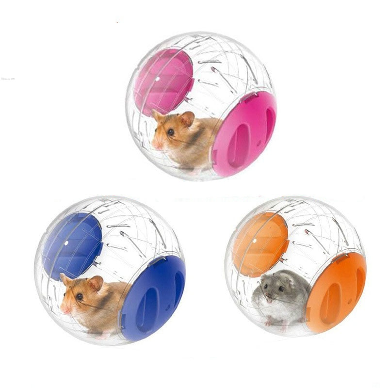 12CM Run Crystal Ball Pet Supplies Pet Fitness Products Hamster Pet Supplies Running Ball Plastic Pe