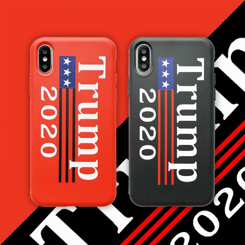 2020 чехол для телефона с изображением Дональда Трампа на тему выборов для iphone 11 pro X XS MAX XR 7 8 6 6s plus с поддержкой Трампа, мягкий чехол для телефон...