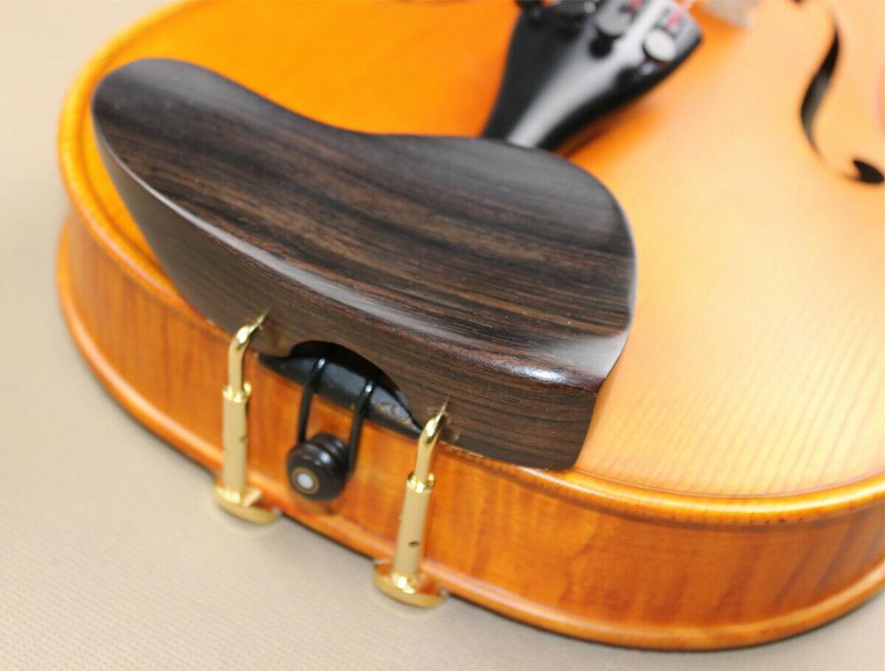 Отличная скрипка 4/4 Тип уха для подбородка, очень высокое, супер качество, гладкая, красивый внешний вид, удобный подбородок