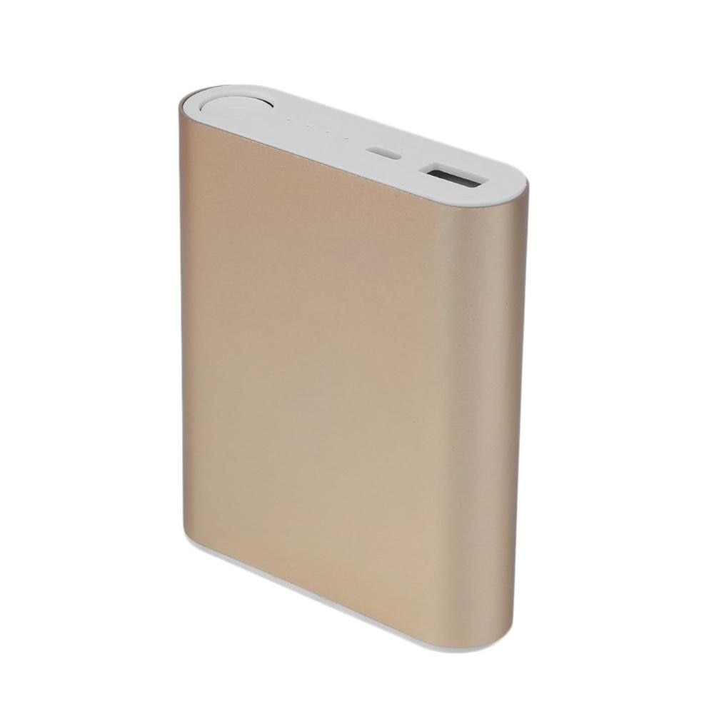 10400mAh Power Bank  Case Portable Charging PowerBankCase USB PoverBank External Battery Charger For