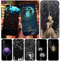 black white art matte for oppo f7 f9 f11 f15 r9s r15 r17 k3 k5 find x2 x3 f19 pro lite pro neo black silicone phone case