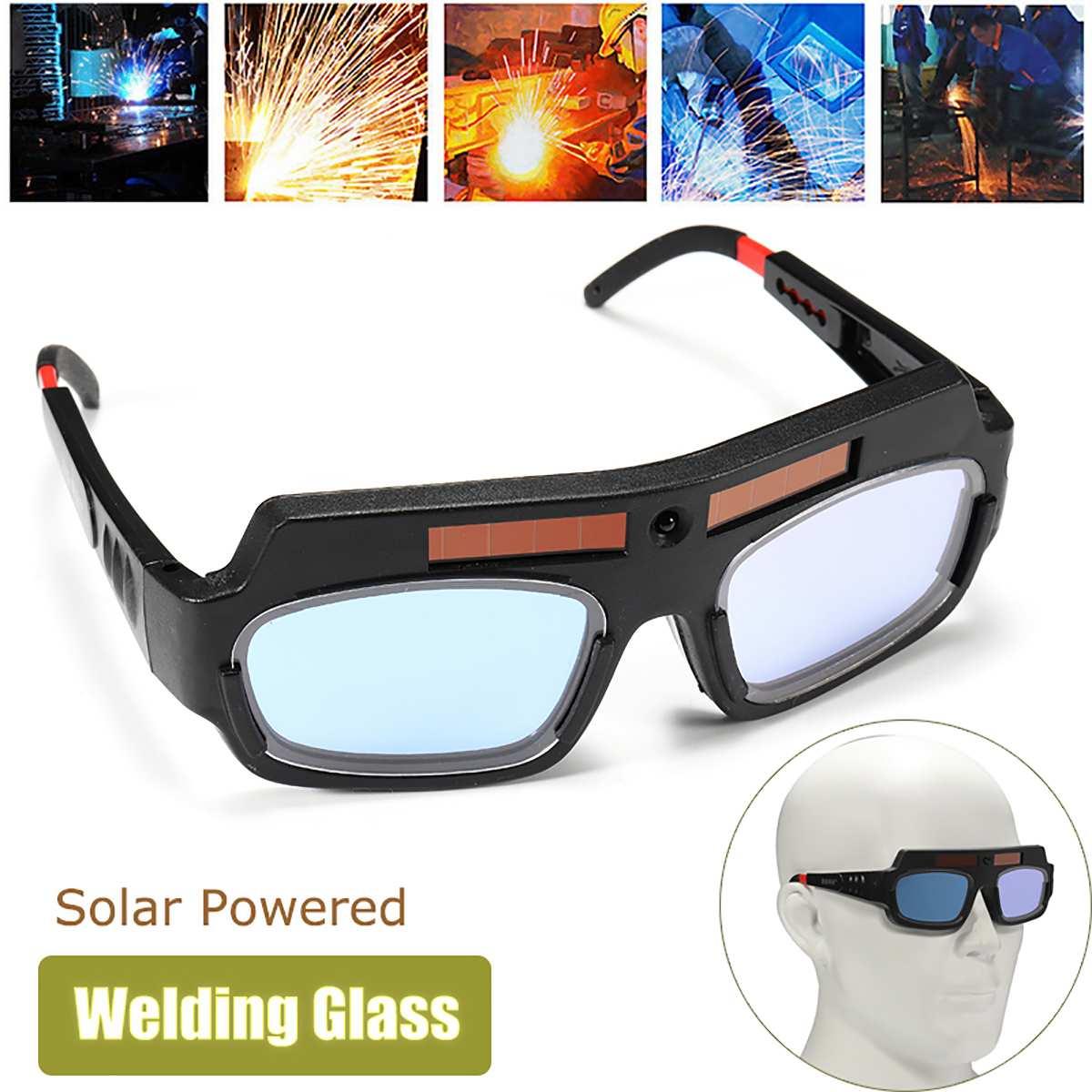 Gafas de casco de soldadura automático con energía Solar lentes de protección para soldar