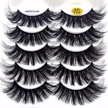 5 Pairs 3D Eyelashes Soft False Eyelashes Fluffy Delicate Eye Lashes Eyelashes Extension Natural Thi