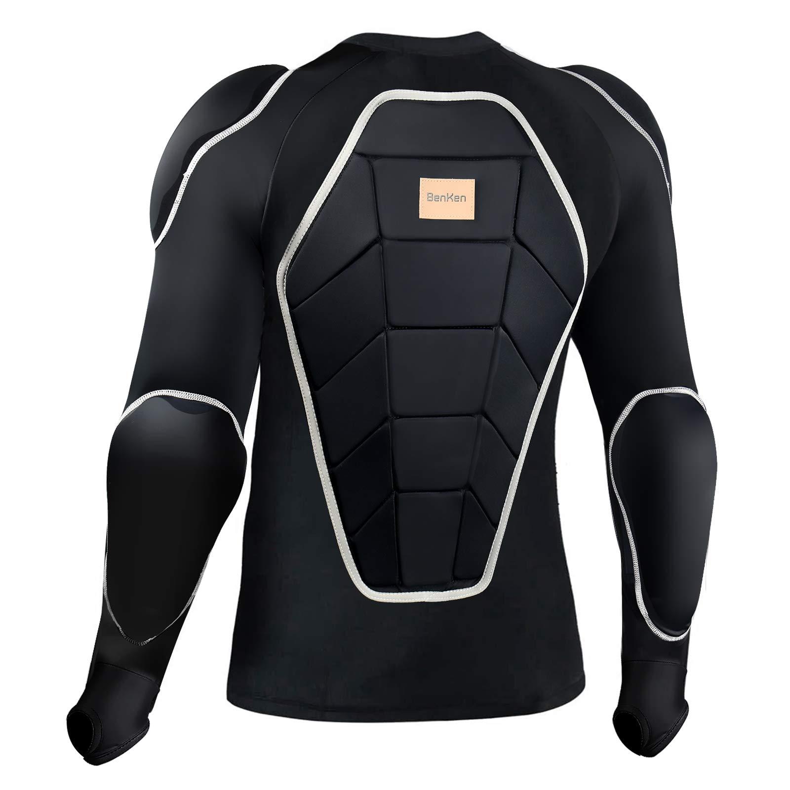 BenKen Motorcycle Armor Chest Shoulder Elbow Protector Protective Gear Protective Jacket Skateboard Snowboarding Protection