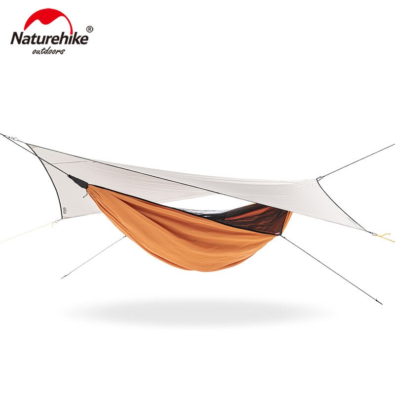 Naturehike Outdoor Lightweight Portable Camping Hammock Anti-mosquito Swing Sunshade and Rainproof Canopy Hammock NH20ZP092