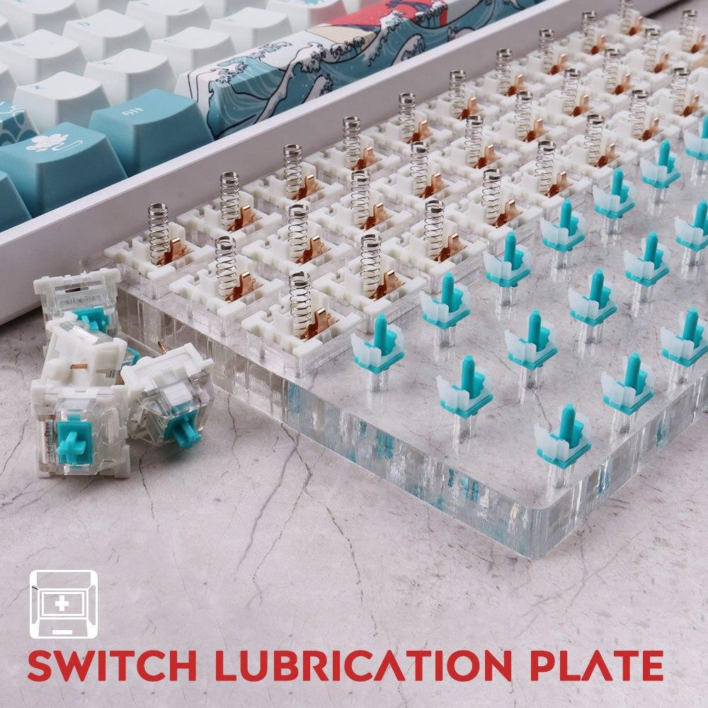 30 مفاتيح التبديل تستر لوب مودينغ محطة الجمع DIY بها بنفسك غطاء إزالة منصة للوحة المفاتيح الميكانيكية الكرز Kailh