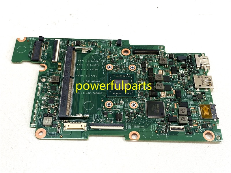 100% working for Dell inspiron 11 3180 laptop motherboard CN-0M3G09 0M3G09 M3G09 17876-1 A6-9220E te