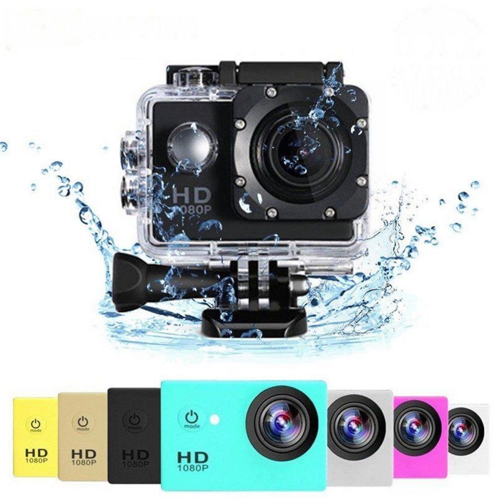 Full HD 1080P Waterproof Camera 2.0 Inch Camcorder Sports DV Go Car Cam Pro