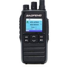 El DM-1703 DMR Walkie Talkie VHF UHF çift bant 136-174 & 400-470MHz çift zaman dilimi katman 1 ve 2 dijital radyo