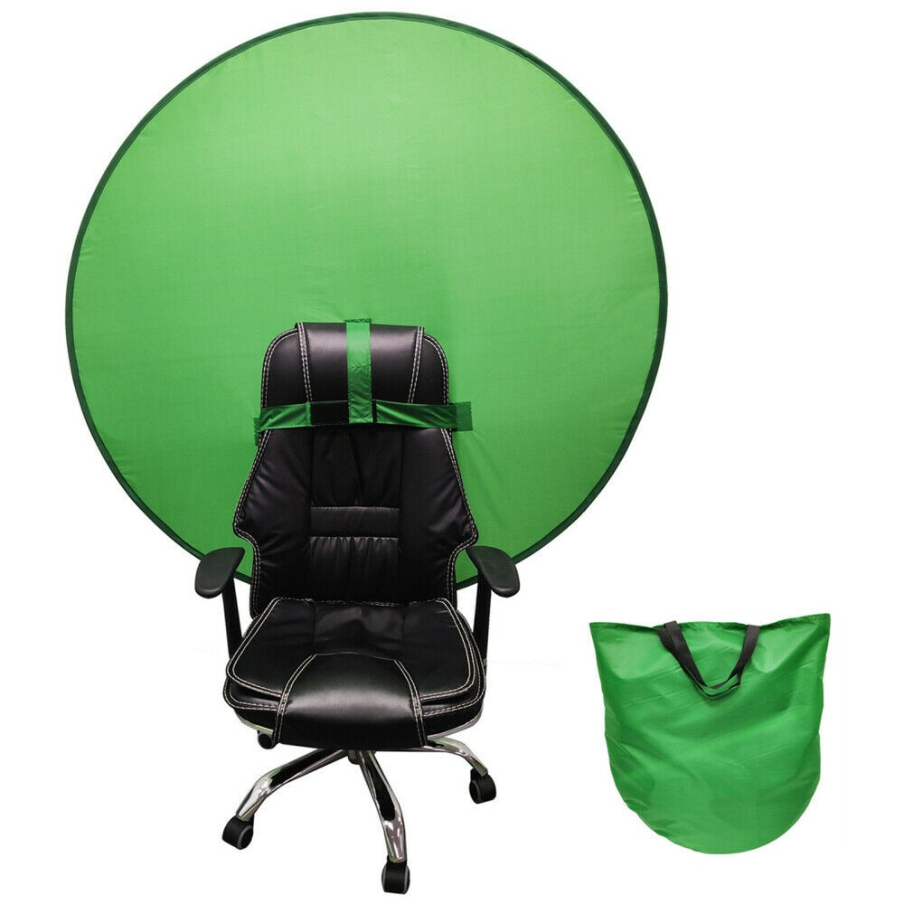 Green Background Screen Portable 4.65ft For Photo Video Studio Or Portrait Photos Live Streaming Green Backdrop Background недорого