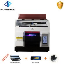 Automatic portable wedding invitation plastic card printing digital hot foil stamping machine printer price A4 UV Printer