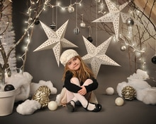 Vinyl Custom Photography Backdrops Prop Digital Printed Christmas day theme Photo Studio Background 10361