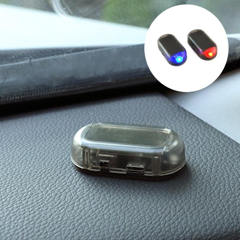 Simulate Car Alarm LED Light car Accessories for renault scenic passat fiat 500x mitsubishi outlander Vesta lada accessories