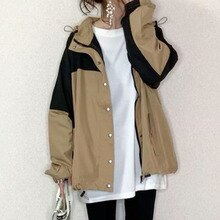 Casual Autumn Women Jacket Top 2021 Korea Japan Fashion Zipper School Khaki Long Sleeve Coat Outwear