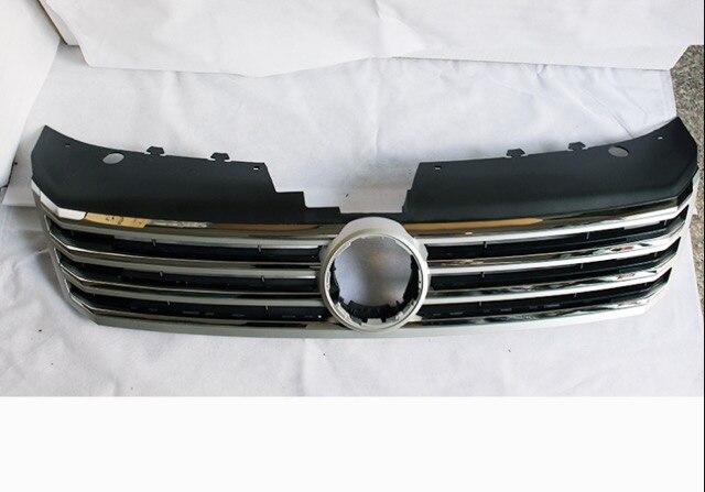 Rejillas de carreras ABS originales y auténticas para coche, parrillas de estilo para Volkswagen Passat B7 2011-2015